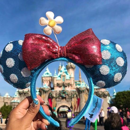 Minnie Mouse Ears With Daisy