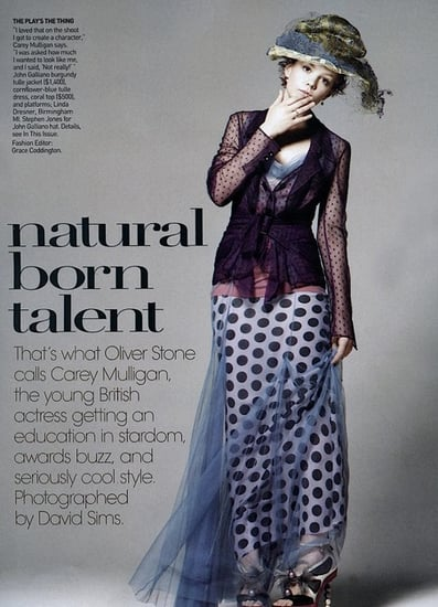 Carey Mulligan does Vogue-january 2010