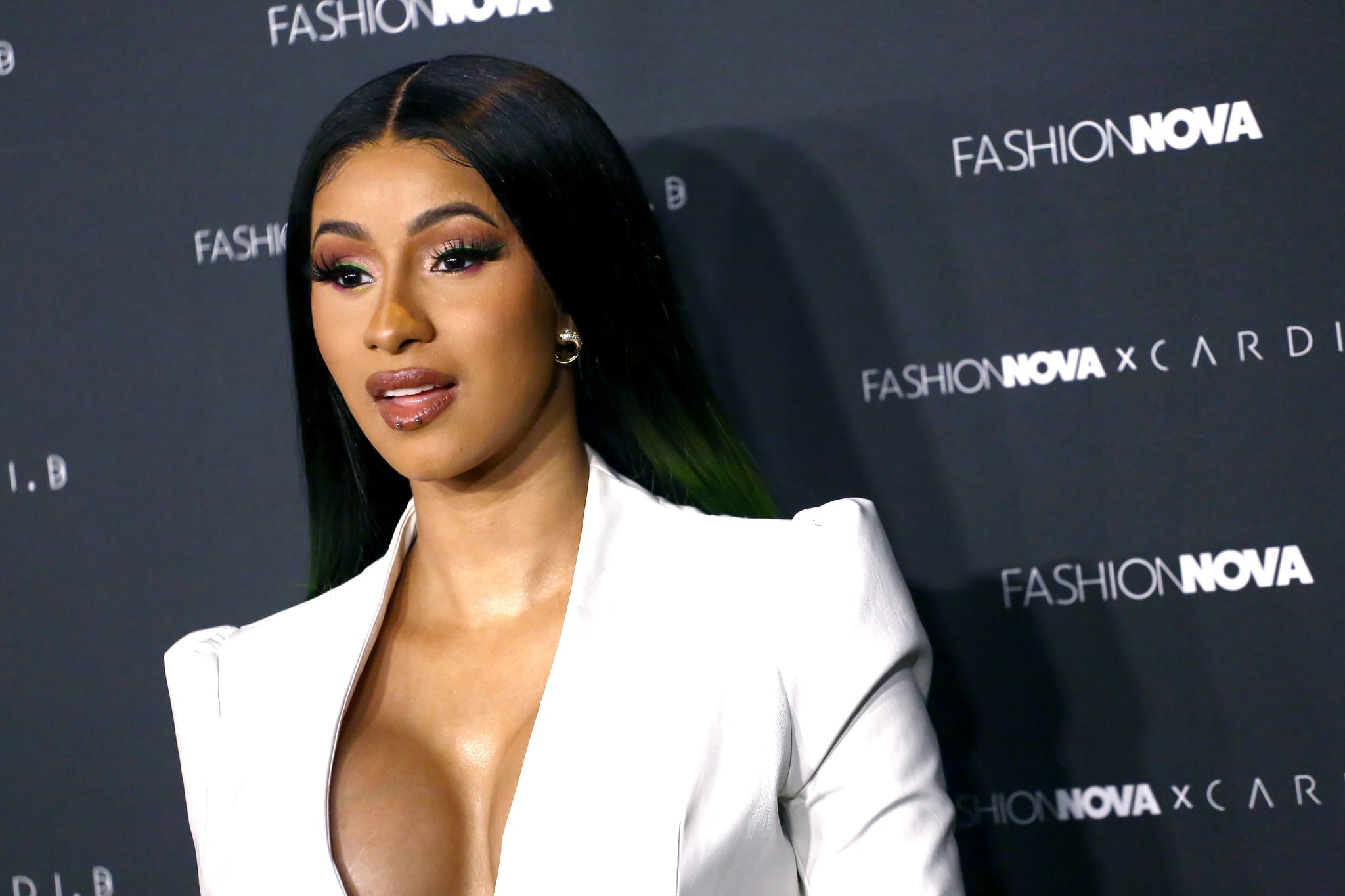 LOS ANGELES, CA - MAY 08:  Cardi B arrives as Fashion Nova Presents: Party With Cardi at Hollywood Palladium on May 8, 2019 in Los Angeles, California.  (Photo by Tommaso Boddi/Getty Images for Fashion Nova)