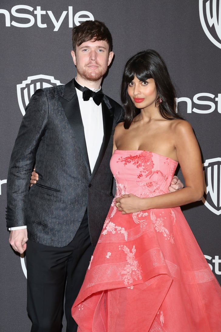 Jameela And James At A 2019 Golden Globes Afterparty