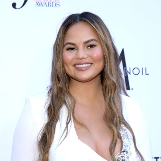 Chrissy Teigen Posts Funny Fake Met Gala Makeup Tutorial