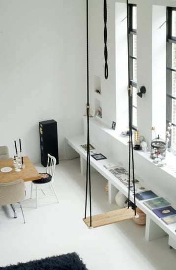 Cool Idea: Hanging Furniture For Your Home