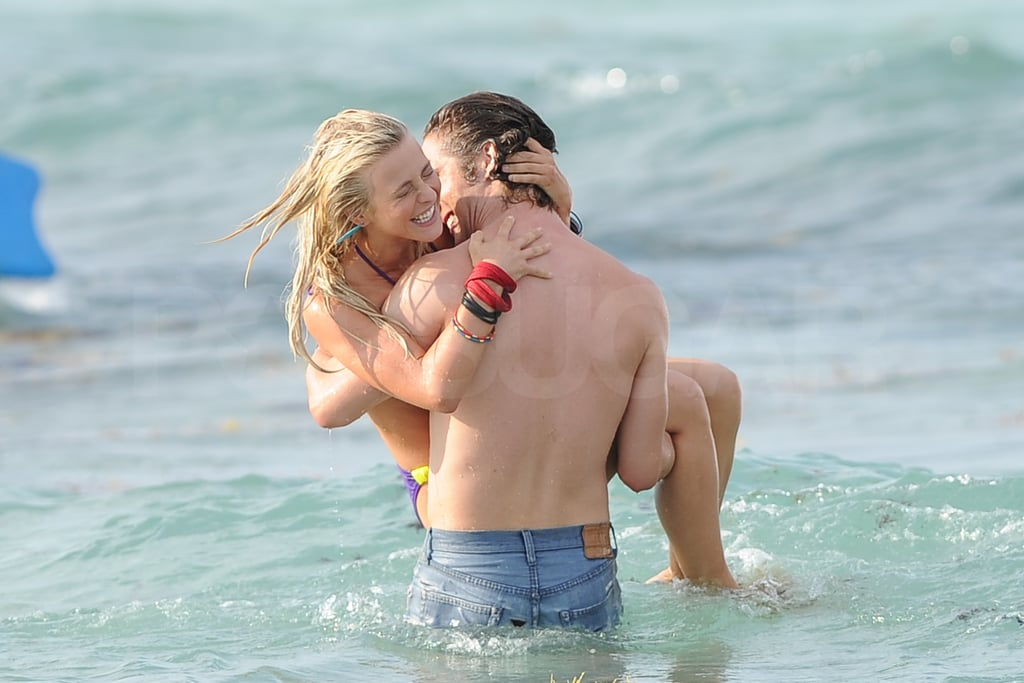 Julianne Hough Bikini Pictures Shooting Rock Of Ages