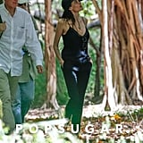 Angelina Jolie scouted a forest in Hawaii for her upcoming film, Unbroken.