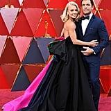 Kelly Ripa and Mark Consuelos at the 2018 Oscars