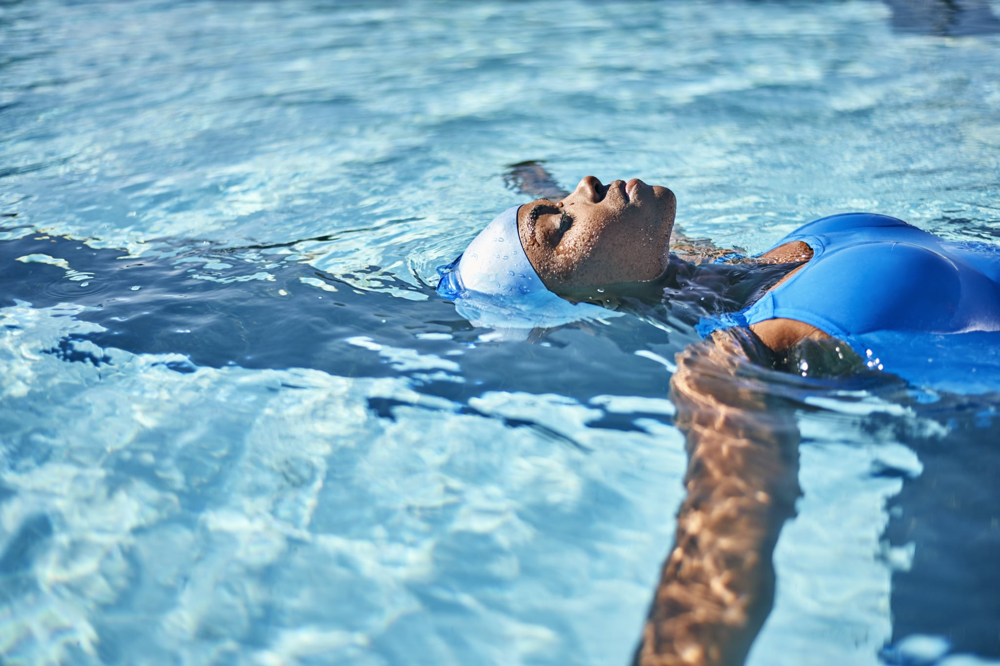 Perfect Summer Workout For swimmer in the pool: Beginner Guide