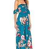 Band of Gypsies Large Floral Lace-Up Dress