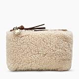 UGG Small Sheepskin Zip Pouch