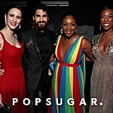 Pictured: Rachel Brosnahan, Darren Criss, Tiffany Haddish and Samira Wiley