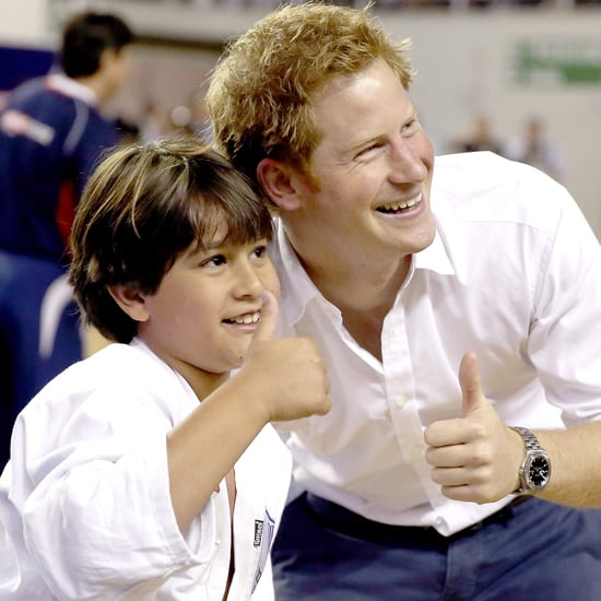 Prince Harry at the World Cup in Brazil