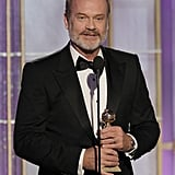 Kelsey Grammer at the Golden Globes.