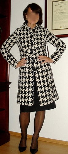 Look of the Day: Hot Houndstooth