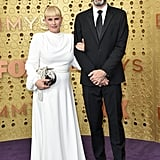 Patricia Arquette and Eric White at the 2019 Emmys