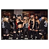 """In 2014, Kate Hudson and her girlfriends dressed as the """"Daughters of Anarchy,"""" with the actress's mom, Goldie Hawn, as their matriarch."""