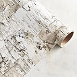 Faux Birch Embossed Gift Paper ($8)