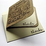 Mini Thank-You Note Cards