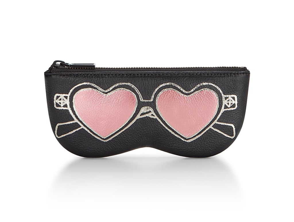 Rebecca Minkoff Heart Sunnies Leather Sunglass Pouch ($75)