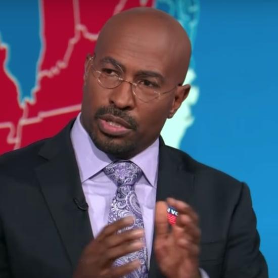 Watch Van Jones's Reaction to Election Night on CNN | Video