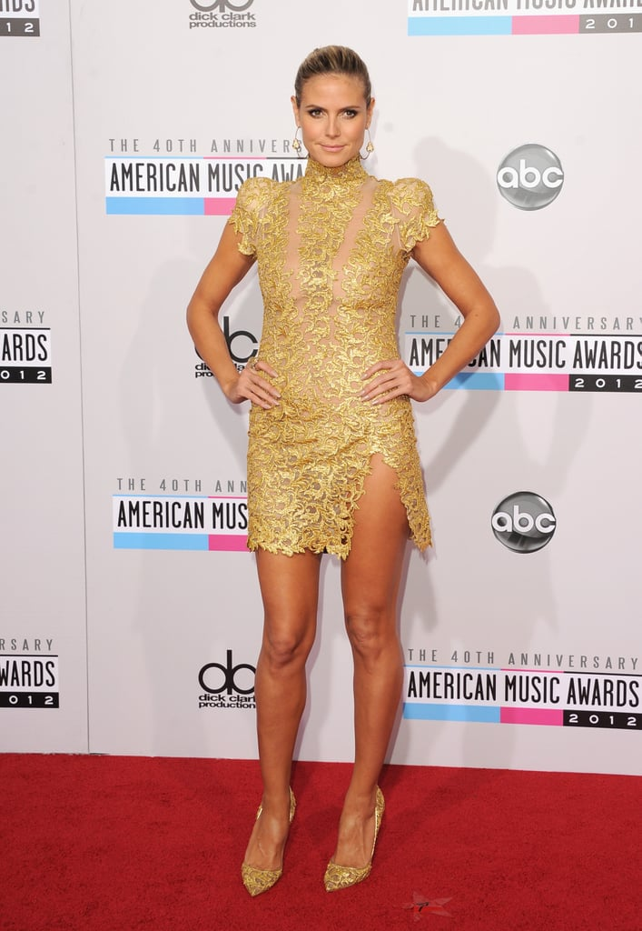 Heidi Klum at the American Music Awards 2012 | Pictures
