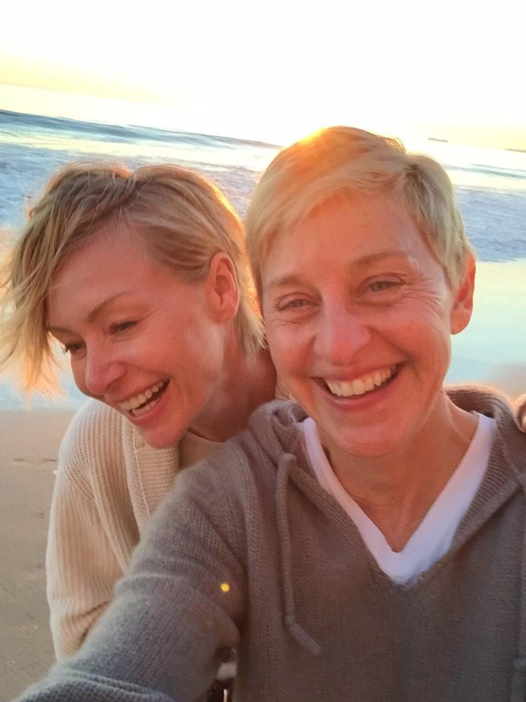 Portia De Rossi And Ellen DeGeneres: Married