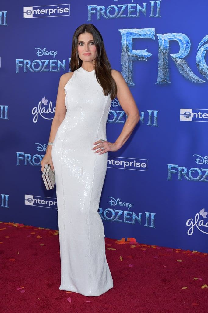 Idina Menzel at the Frozen 2 Premiere in Los Angeles ...  Idina Menzel at...
