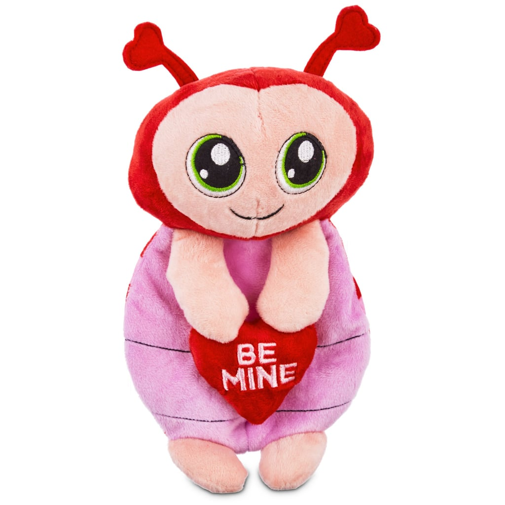 Love My Pup Be Mine Ladybug Flattie Dog Toy