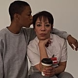 Wiley and Selenis Leyva posed for their costar. Source: Instagram user realleadelaria
