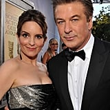 Tina Fey and Alec Baldwin arrived at the 2012 SAG Awards.