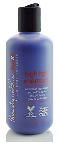 Beauty With a Twist Purple Shampoo ($24)