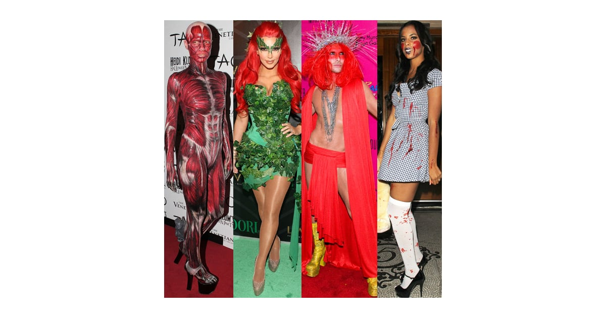 Dress up like celebrity for halloween