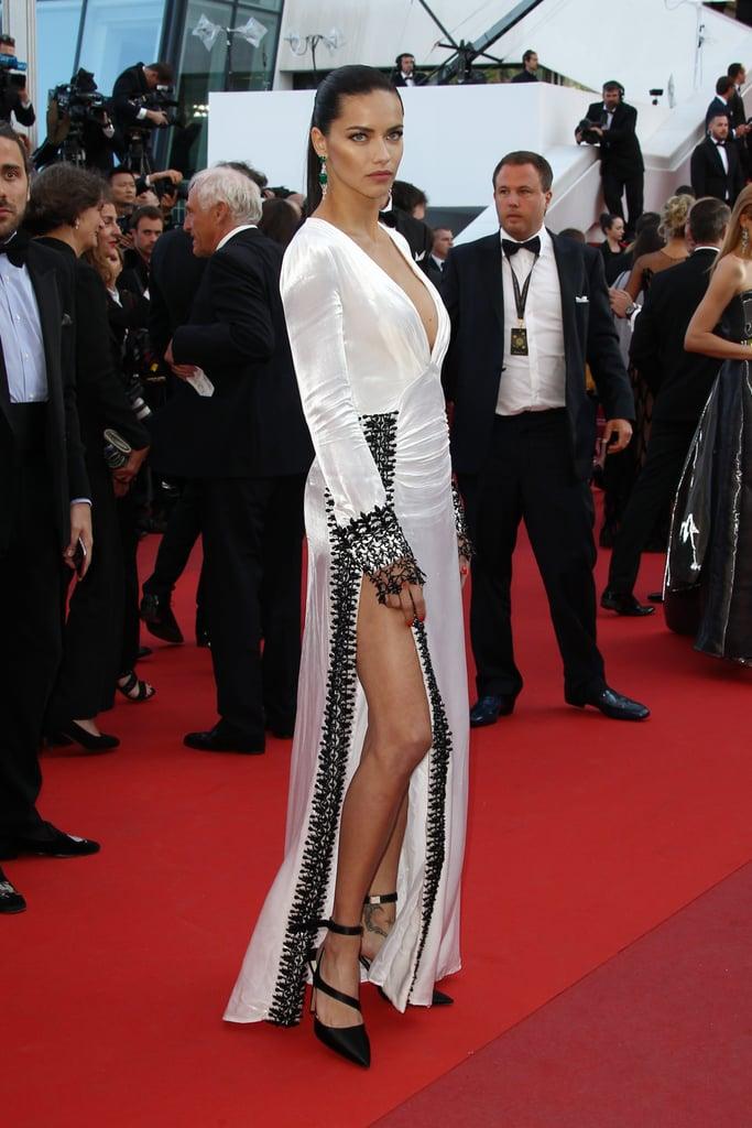 Adriana Lima's Prada Dress at the Cannes Film Festival 2016
