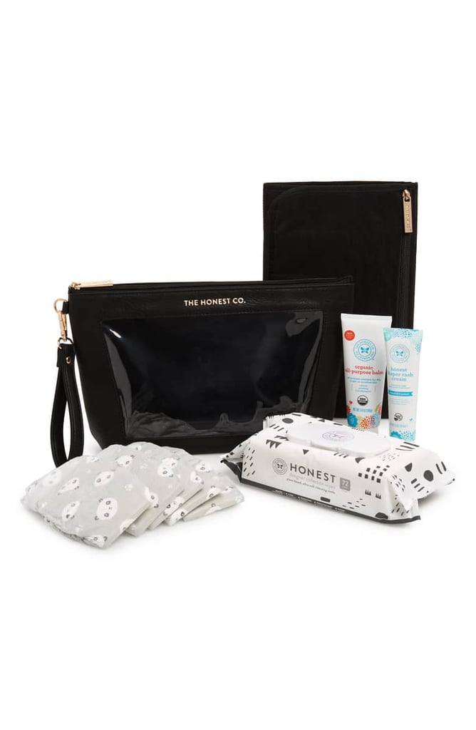 The Honest Company Travel Wristlet New Parent Gift Set