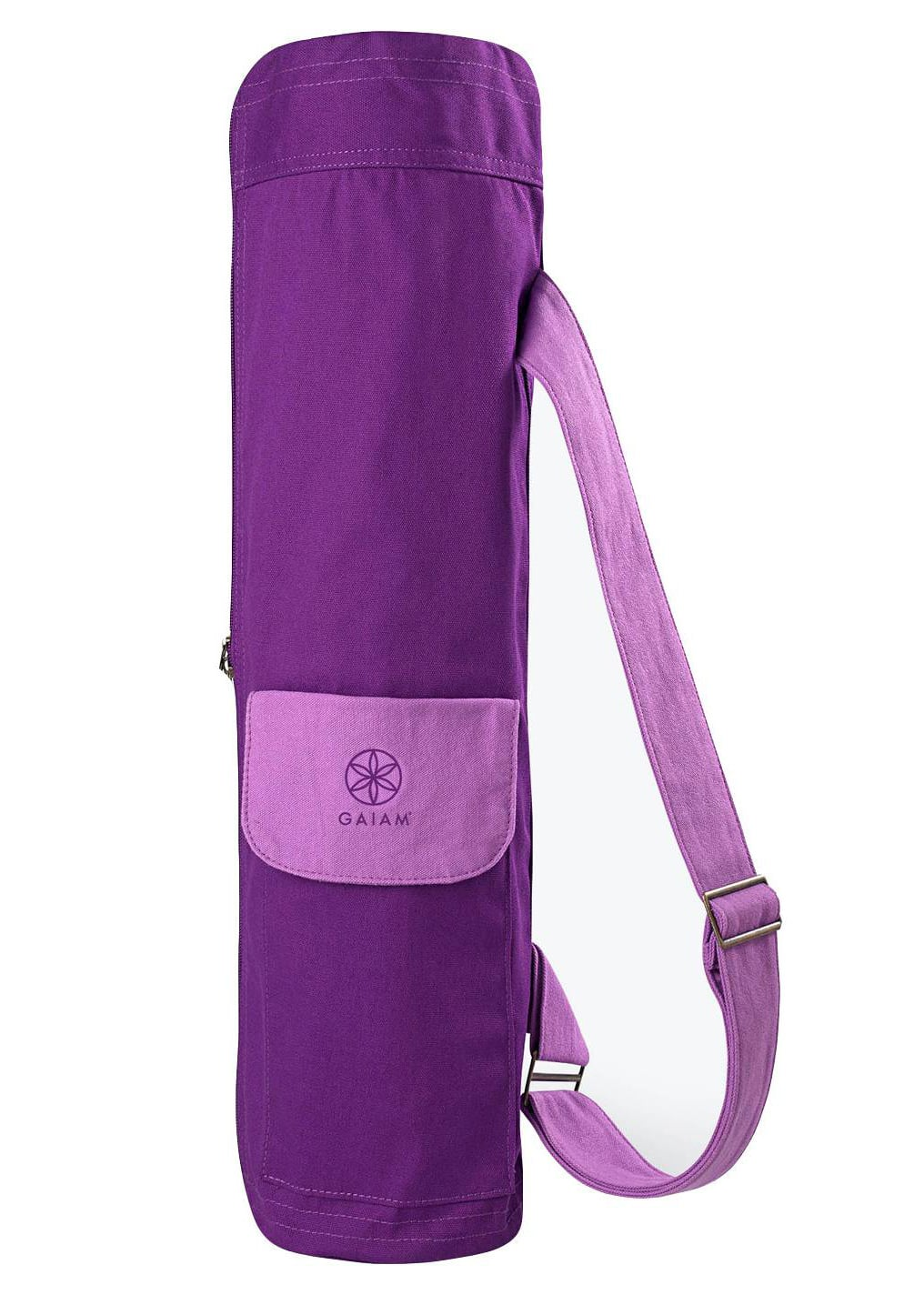 Gaiam 2 Color Cargo Yoga Mat Bag 25 Fitness Items Under 25 From Target Popsugar Fitness Photo 24