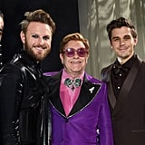 The Queer Eye Cast and Elton John at the Elton John AIDS Foundation Oscars Party