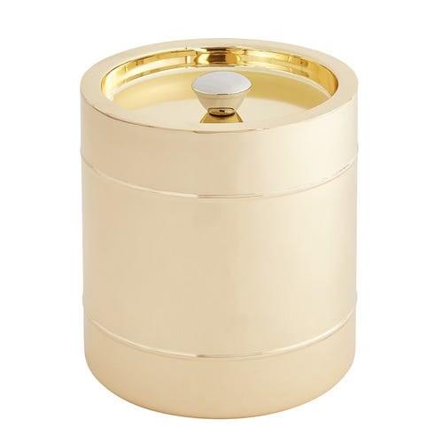Gold Iridescent Ice Bucket