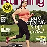 Women's Running Plus-Size Cover Model | August 2015