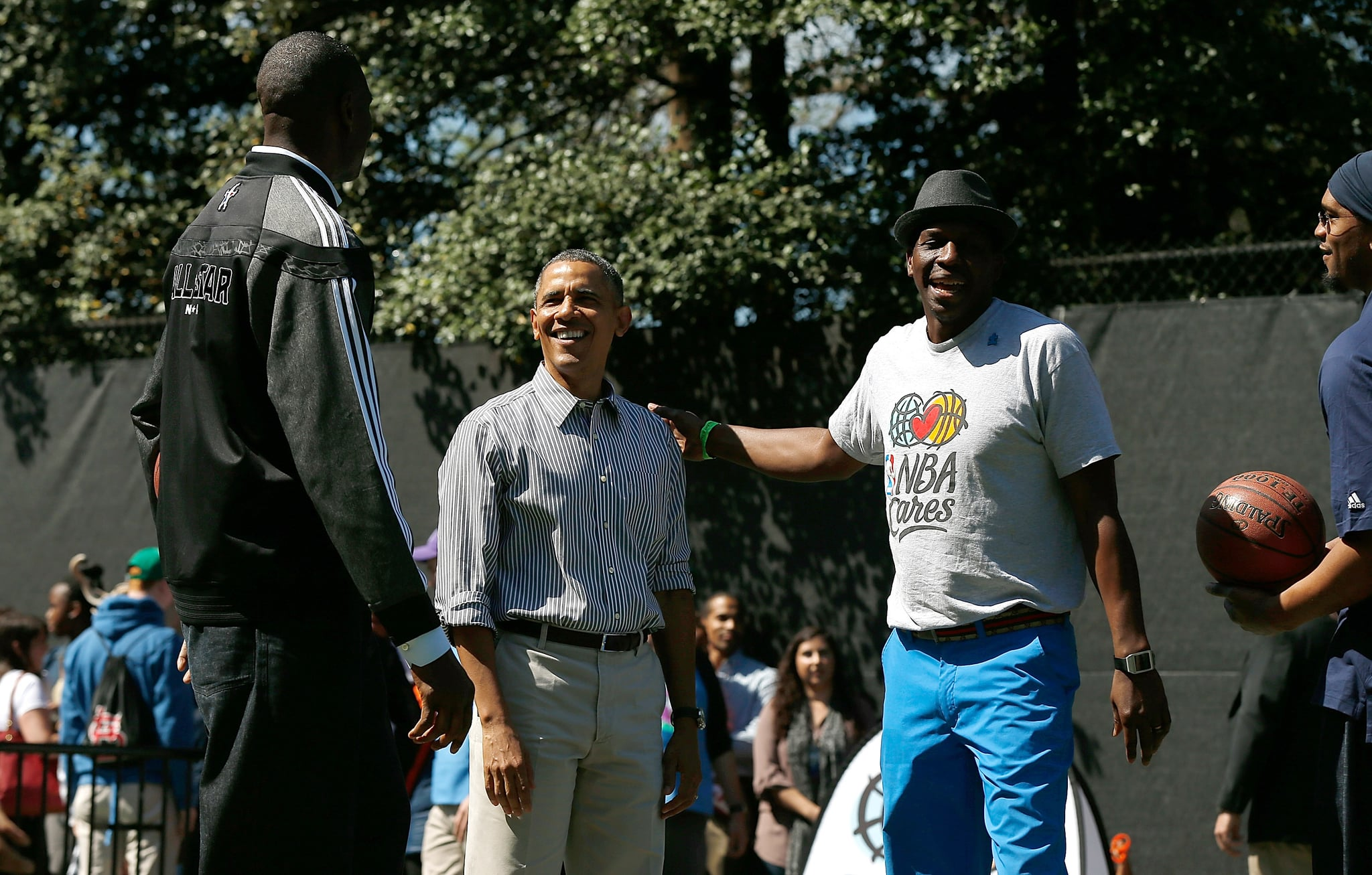 He was in good company with a few NBA players.