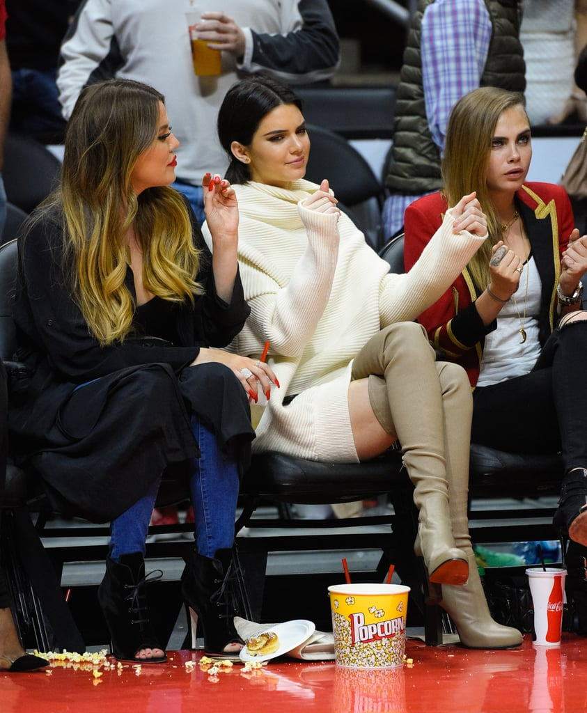 And the Other Time She Used Them to Distract the LA Lakers Courtside