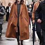 Alexa Chung's Street Style at Paris Fashion Week