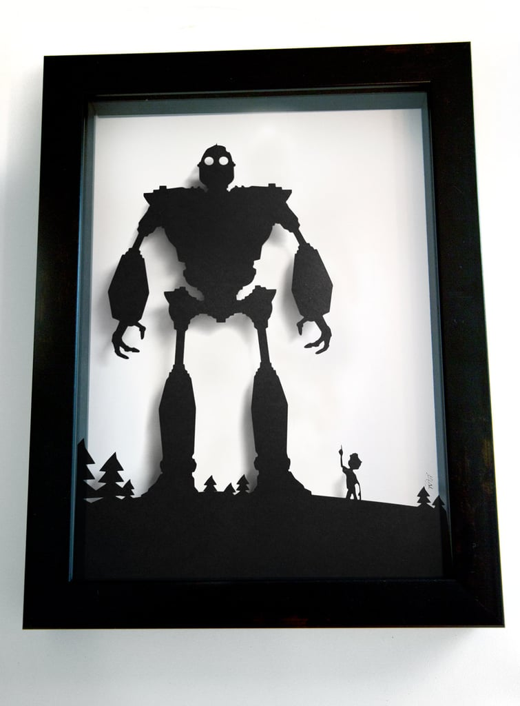 11-by-15-inch Iron Giant and Hogarth ($55)