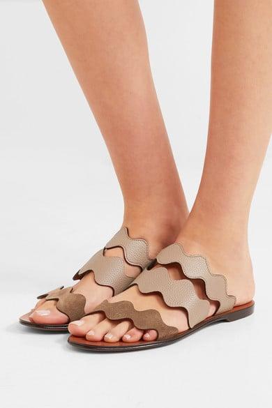 38f016f5c9 Chloé 'Lauren' Slides | Sandals Like Birkenstocks | POPSUGAR Fashion ...