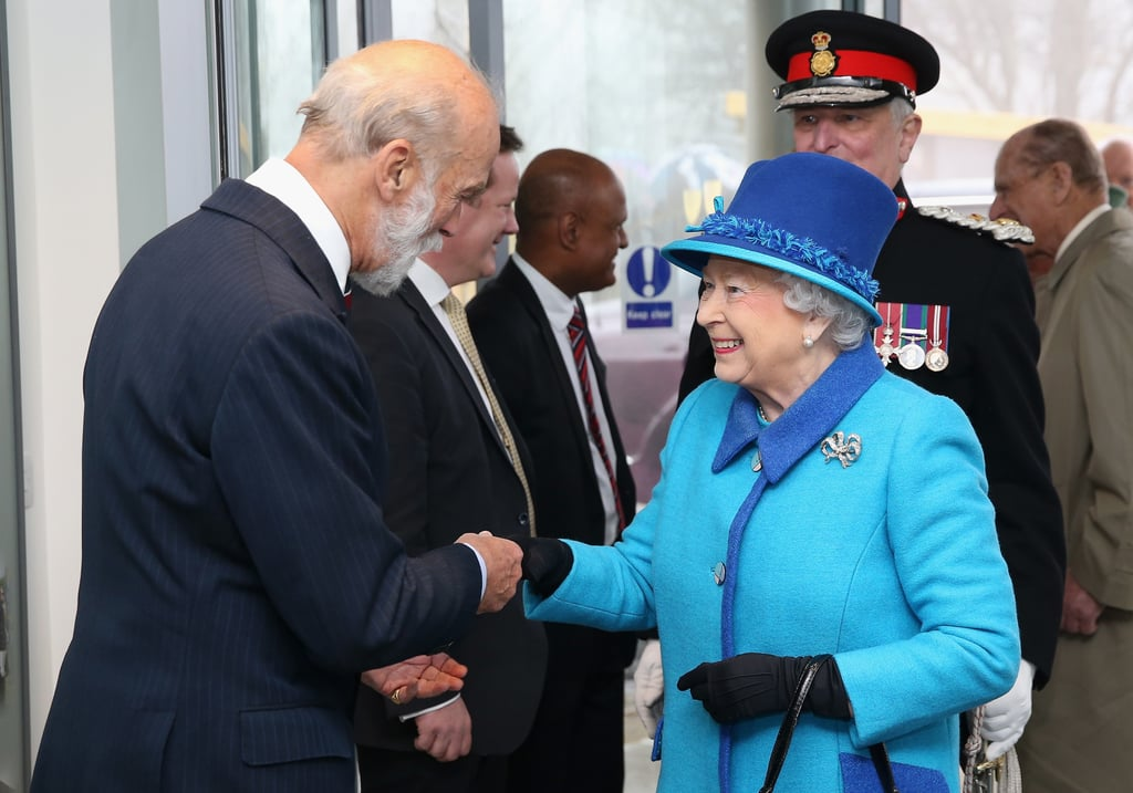 You'll Rarely See the Queen Without a Pair of Gloves