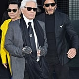 Karl Lagerfeld takes Sébastien everywhere he goes, and we understand why.