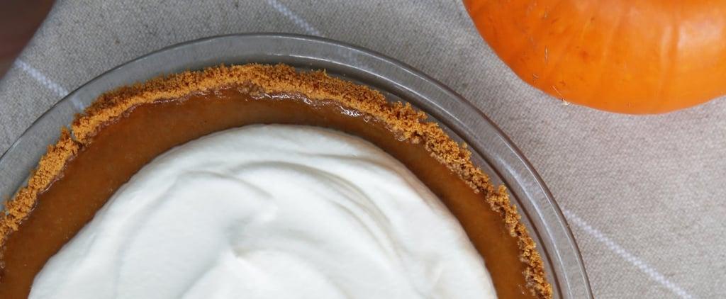 Pumpkin Pie With Graham Cracker Crust Recipe