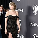 Taylor Swift and Joe Alwyn at 2019 Golden Globes Afterparty