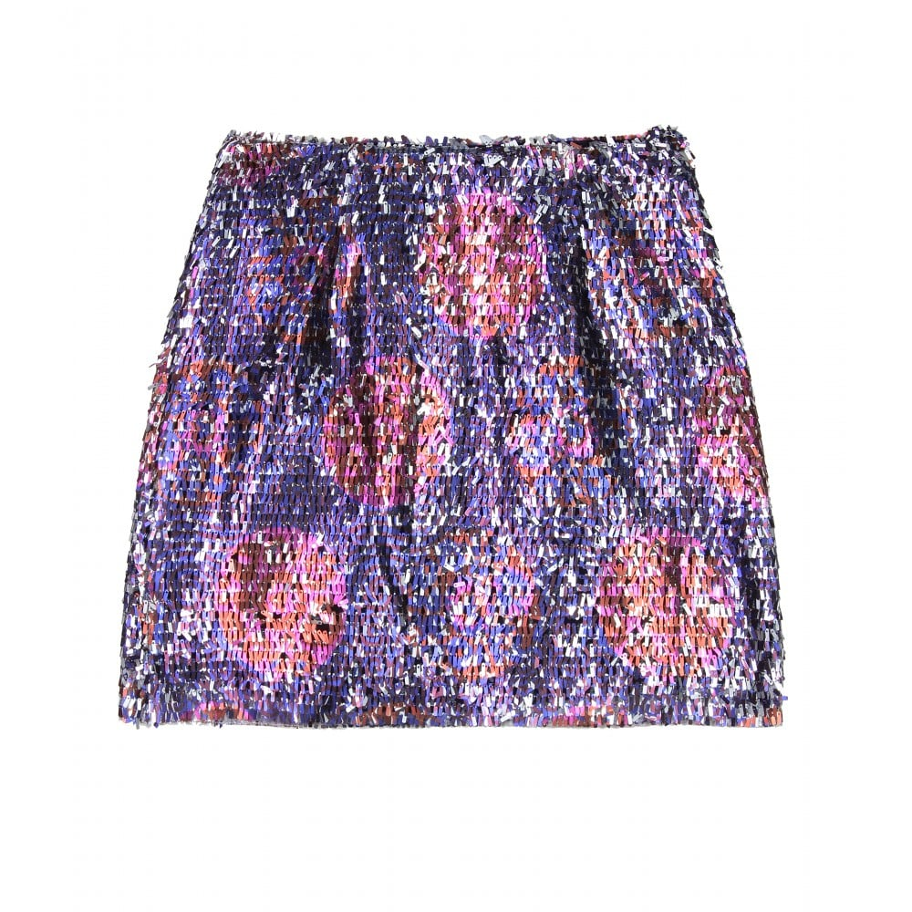 Nothing brings the party like a sequined skirt.  Anna Sui Klimt Sequin Skirt ($119, originally $395)