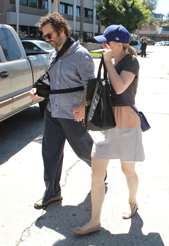 Rachel McAdams and Michael Sheen were spotted in Studio City visiting a Farmers Market.