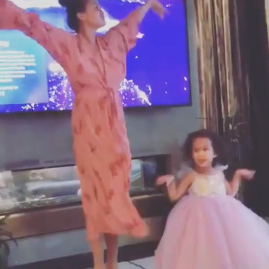 Chrissy Teigen and Luna Interpretive Nutcracker Dance Video