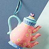 Anthropologie Tea Time Ornament