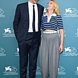 Adam Driver and Scarlett Johansson at the Marriage Story Photocall